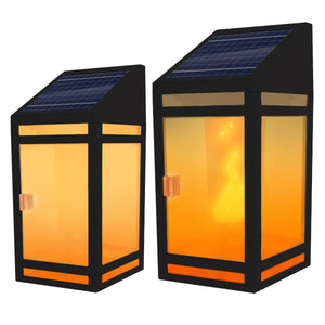 Solar Torch Wall Lantern Model STL-203 (1 Pack)
