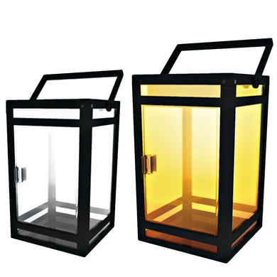 Portable Clear Panel Solar Lantern Model STL-204 (2-Pack)
