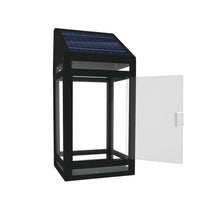 Solar Clear Panel Wall Lantern Model STL-205 (1 Pack)