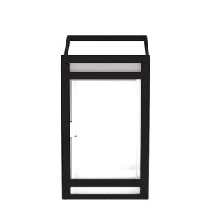 Portable Frosted Panel Solar Lantern Model STL-206 (2-Pack)