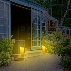 Solar Portable Garden and Path Light - Amber or Flame STL-211 (1 Pack)
