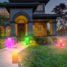 Solar Multicolor Portable Garden and Path Light STL-213 (1 Pack)