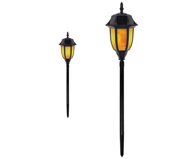 Solar Garden & Walkway Light – Flame or Still Light SKL-503 (1 Pack)