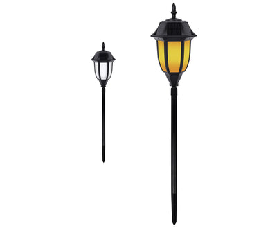 Solar Garden & Walkway Light – Amber or White Light SKL-504 (1 Pack)