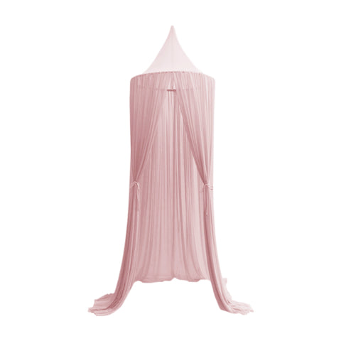 Sheer Canopy sengehimmel i dusty pink - Spinkie