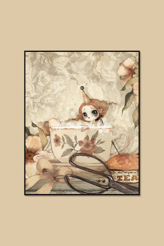 The Tea Bath Plakat 40x50 cm - Mrs. Mighetto