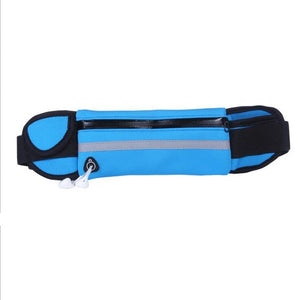 Queshark Waterproof Running Waist Bag