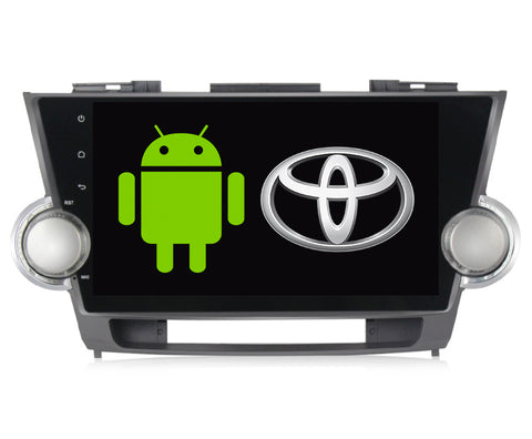 Autoestereo Pantalla Gps Android Toyota Highlander 08-13