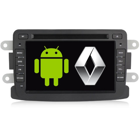 AUTO ESTEREO PANTALLA GPS ANDROID - RENAULT DUSTER