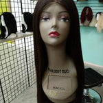 "26"" Handmade Lacefront Virgin Indian Hair"