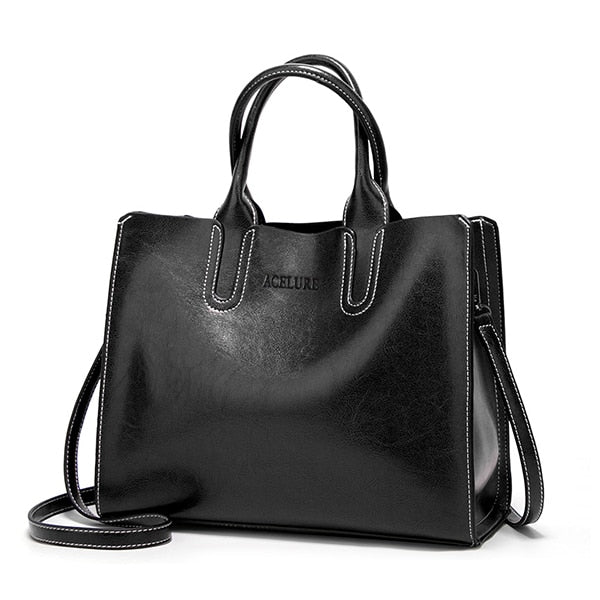 Big Women Bag High Quality Casual Female Bags Trunk Tote Spanish Brand Shoulder Bag Ladies
