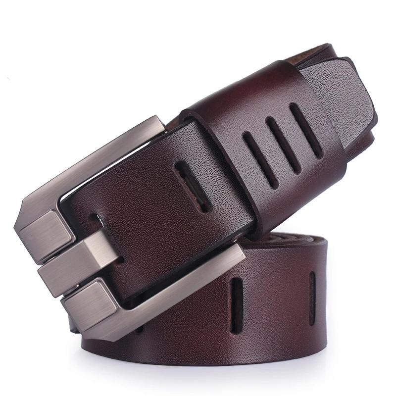 Belts for men brand male pin buckle jeans cowboy Mens Belt Luxury Designer High Quality