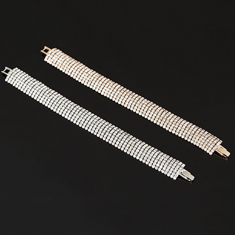 Bracelets For Women Gold and Silver Plated Link Bracelet Bangle Fashion Jewelry