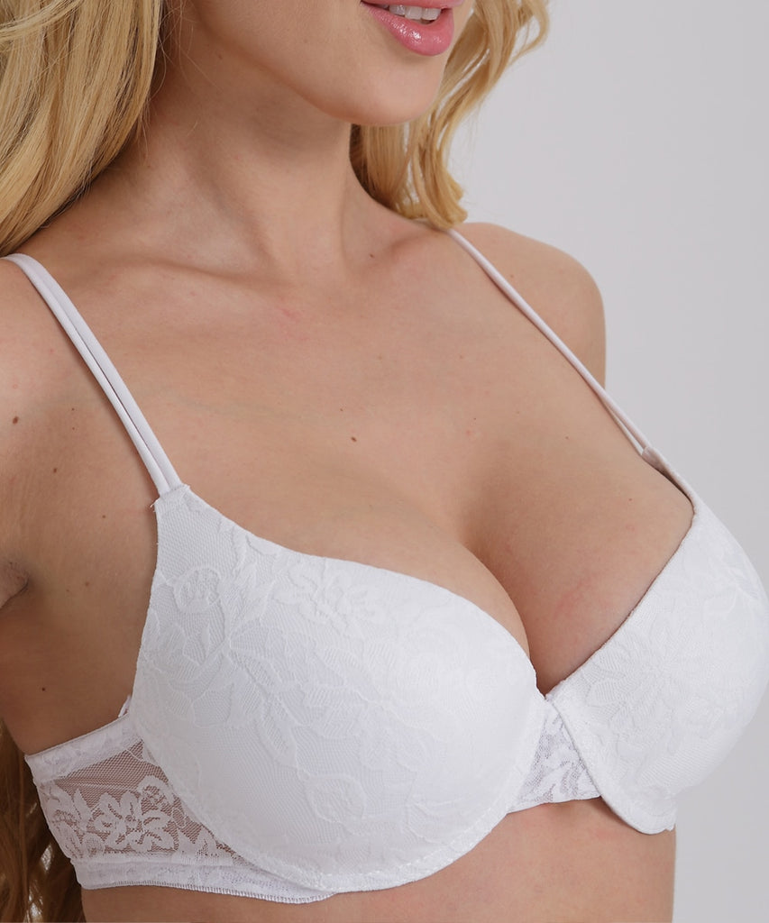 Sexy Push Up Bra Plus Size A B C D Cup Women Bra Brassiere Adjustment Plunge Lingerie Bras
