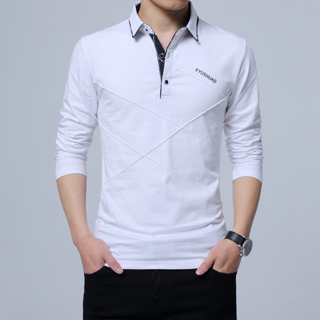 Polo Shirt Men Plus