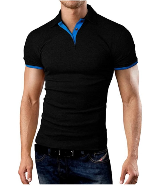 2019 Men'S Polo Shirt For Men Desiger Polos Men Cotton Short Sleeve Shirt Clothes Jerseys Golftennis