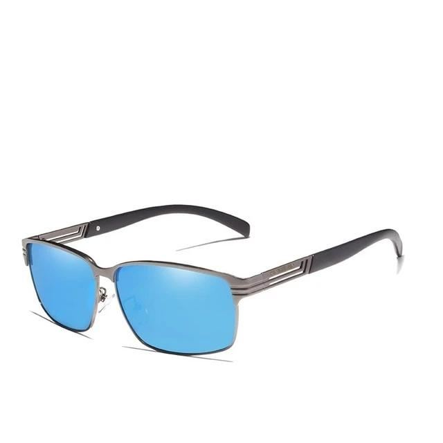 Sunglasses Men Vintage Square Frame Eyewear Oculos Gafas UV400