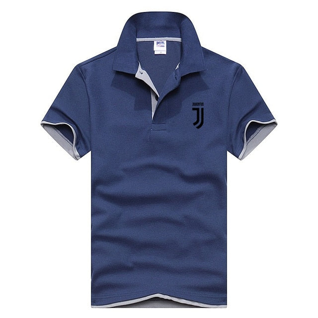 Business Polo Shirt Men Juventus Brand Clothing