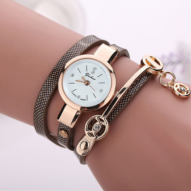 Women Metal Strap Wristwatch Bracelet Quartz watch Woman Ladies Watches Clock