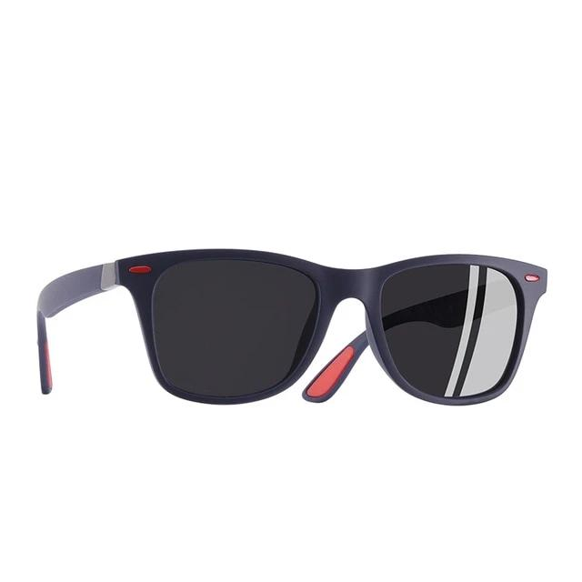 Ultralight TR90 Polarized Sunglasses Men Women Driving Square Style Sun Glasses