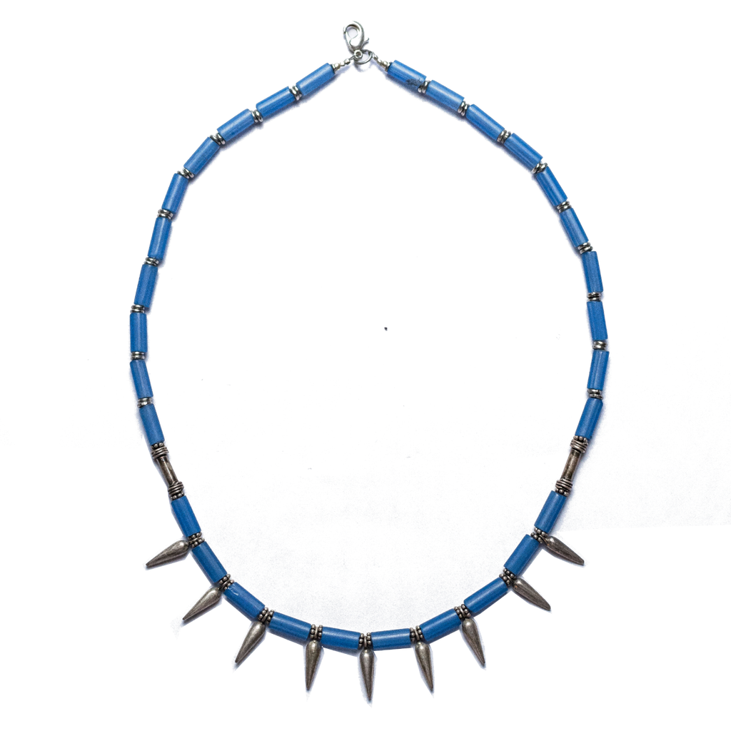 Ambassador Silver Spike Necklace