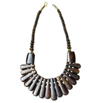Brown Camel Bone Tribal Necklace