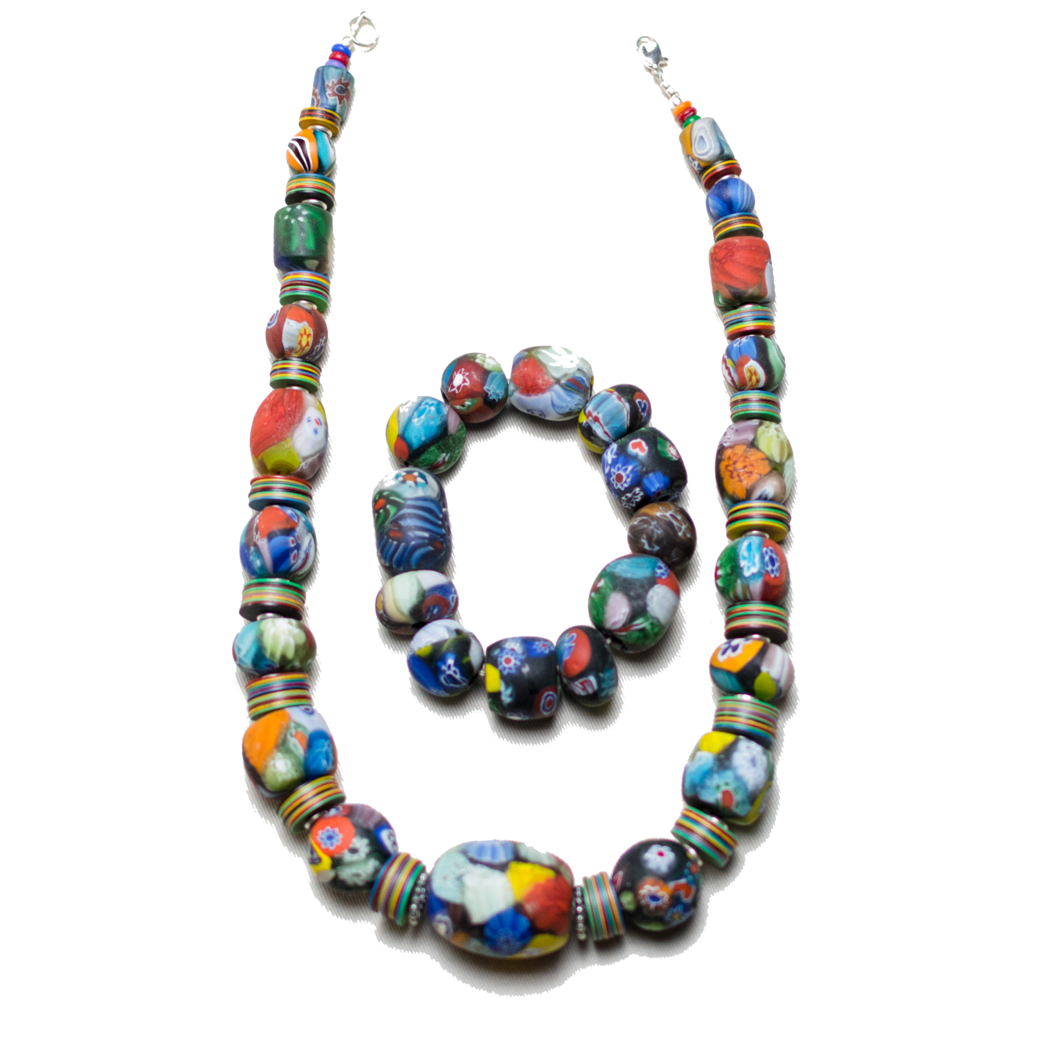 Colorful Massaga Bead Set