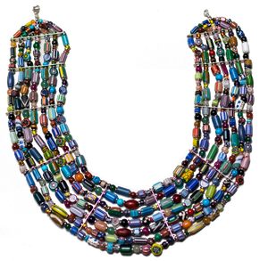 Mixed Bead Collar Necklace