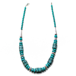 Trade Bead and Turquoise Necklace