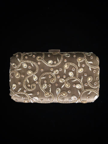 Dark Gold Clutch