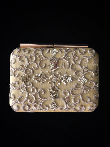 Ivory Antique Clutch