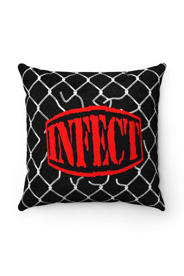 TRAPPED LOGO PILLOW - Infect Co