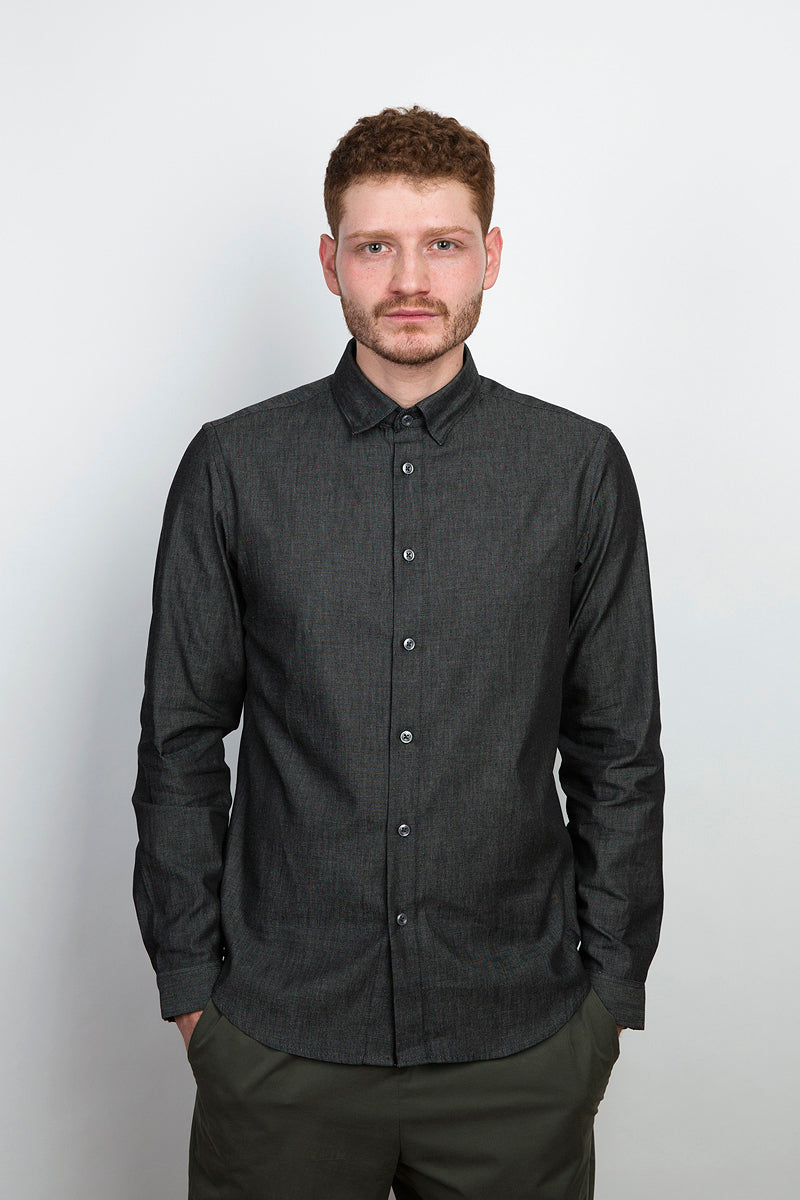 Pure Shirt asphalt denim