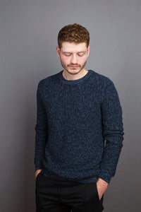 Rib Sweater dark ocean