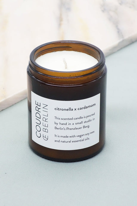 citronella x cardamom / ESSENTIALS Scented Candle