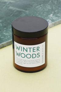 WINTER WOODS / ESSENTIALS Scented Candle