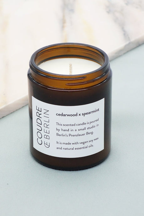 cedarwood x spearmint / ESSENTIALS Scented Candle