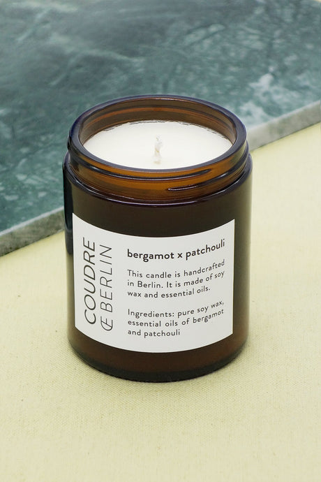 bergamot x patchouli / ESSENTIALS Scented Candle