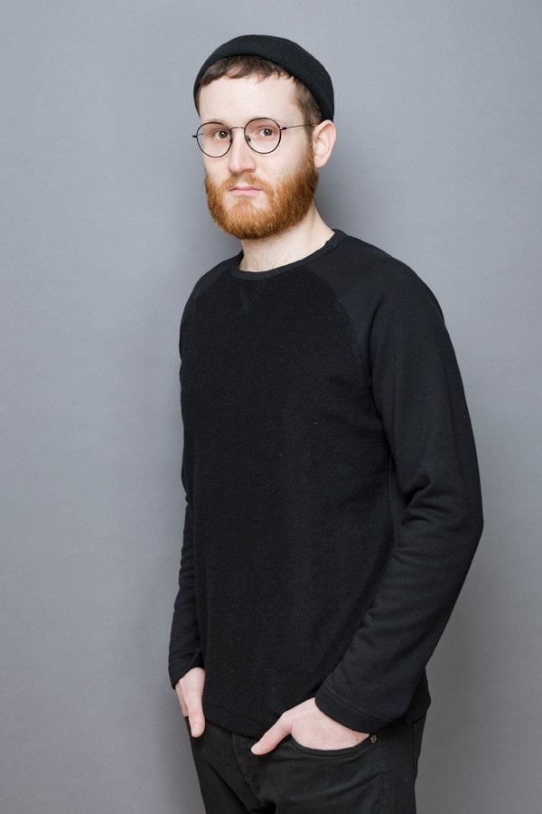 Raglan Sweatshirt black
