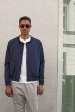 Load image into Gallery viewer, V-Neck Bomber Jacket