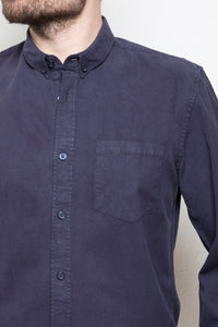 Garment Dye Shirt blue mountain