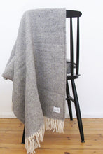 Laden Sie das Bild in den Galerie-Viewer, Woolen Throw Pick Stitch Granite
