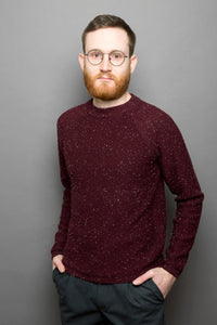 Speckle Sweater cuprite