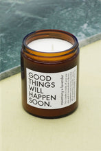 Load image into Gallery viewer, Good things ... Candle rosemary x lavender / ESSENTIALS Scented Candle