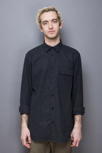 Flannel Shirt graphite grey