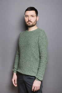 Honeycomb Sweater serpentine