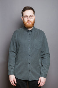 Garment Dye Shirt dark pine