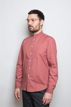 Load image into Gallery viewer, Band Collar Shirt beryll