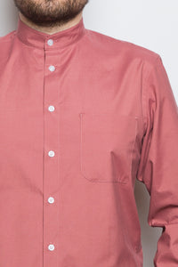 Band Collar Shirt beryll