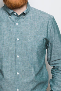 Button Down Shirt greenstone